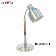 DZ1/DZ2 electric stainless steel food warmer lamp commercial food heating warming lamp for hotel/restaurant buffet equipment dz 2 warming lamp 2 head lamp hotel buffet professional heating machine