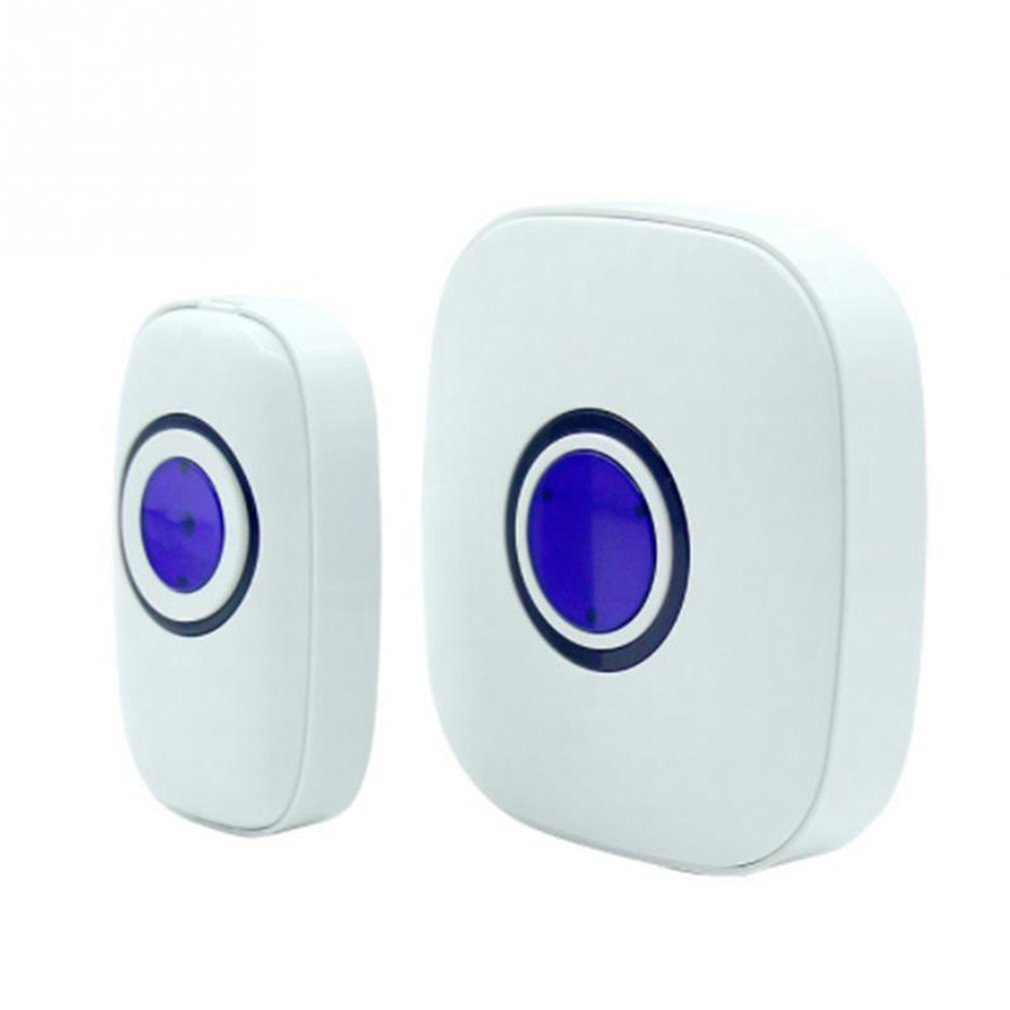 Strong And Stable Signal Waterproof Doorbell 38 Songs 300m Remote Control Wireless Door Bell Smart Ring EU Plug