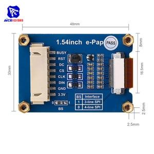 "Image 5 - Diymore 1.54 ""e נייר מודול 200*200 אלקטרוני דיו תצוגת SPI ממשק עבור פטל Pi Arduino STM32"