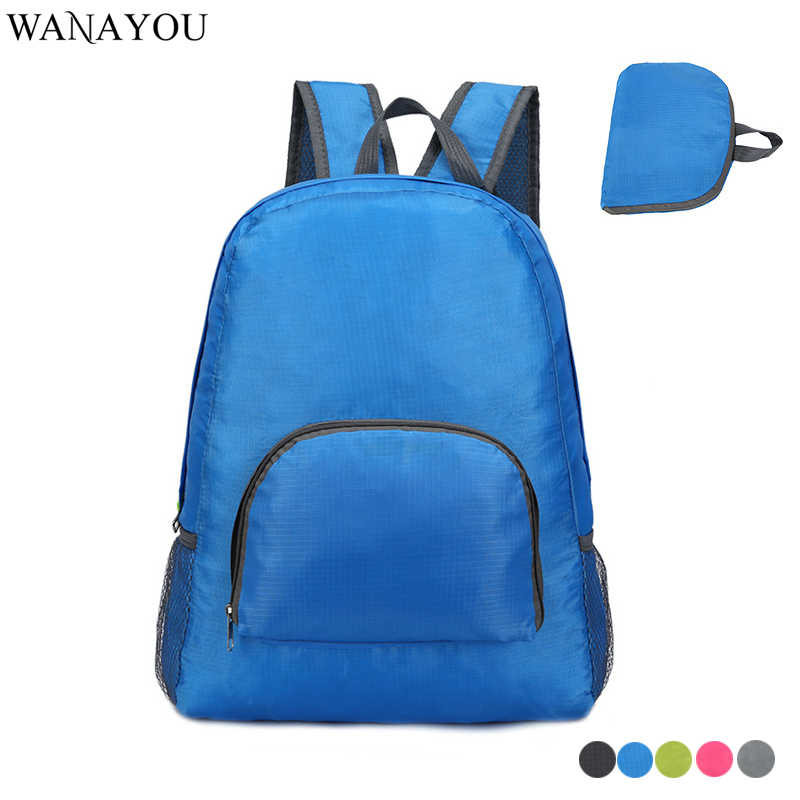 Women Ultra-light Foldable Backpack,Men Outdoor Sports Bag,Multi-Functional Hiking Climbing Bag,Folding Travel Sports Backpack