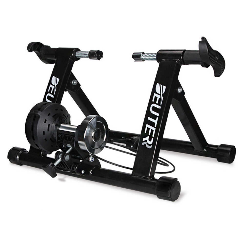 Stationary Trainer Bike Indoor Bicycle Exercise Stand Foldable Training Rack