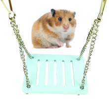 Swing-Toy Hamster Platform Exercise-Toy Pets Guinea-Pig Small with Chain-Suspension Hanging-Stand