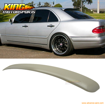 Fit For 95-01 Benz E-Class W210 Sedan L Style Unpainted ABS Roof Spoiler