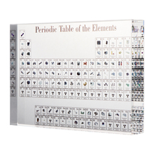Display Chemical-Element Periodic Home-Decor Acrylic Kids with Teaching School-Day Birthday-Gifts