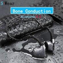 Bluetooth 5.0 OriginalหูฟังBone Conductionชุดหูฟังไร้สายกีฬาหูฟังชุดหูฟังแฮนด์ฟรีสนับสนุนการจัดส่งลดลง