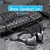 Bluetooth 5.0 Originale cuffie Conduzione Ossea Cuffie Wireless Sport auricolari Auricolari Vivavoce Trasporto di Goccia di Sostegno