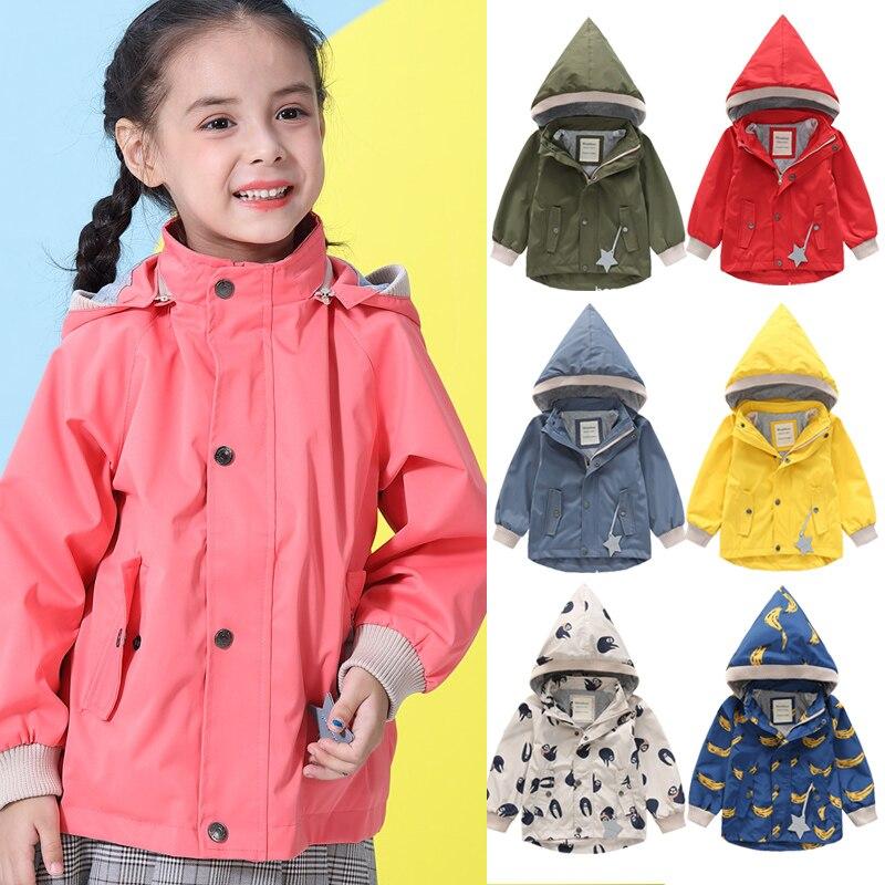 Детская куртка водонепроницаемая осенне зимняя верхняя одежда вельветовые Теплые пальто для маленьких мальчиков куртка парка для маленьких девочек 1 10 лет