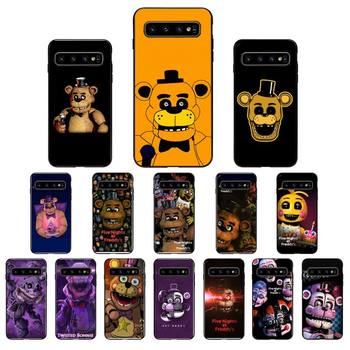 YNDFCNB five nights at freddy's fnaf freddy Phone Case for Samsung Galaxy S6 S6edge Plus S7 S7edge S8 S9 S10 Plus S20 image