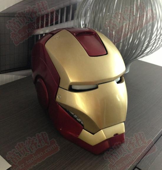 Iron Man DIY Can Wear Helmet 1:1 Paper Model Need Handmade