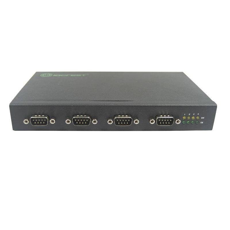 Convertidor adaptador USB 2,0 a 4 puertos RS232 DB9 COM RS 232 multiplicador de puerto serie