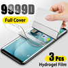 Hydrogel Film Screen Protector For Samsung Galaxy S10 S10E S9 S8 S20 Plus Full Cover Protective For A51 A50 A70 A71 Note 8 9 10