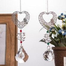 Hanging-Ornament Pendant Suncatcher-Maker Crystal Home-Garden-Decoration-Favors Butterfly