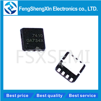 100pcs/lot AON7410 AO7410 7410 IC AON7410L DFN3x3 image