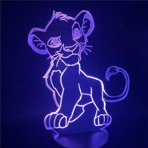 luz da noite dos desenhos animados