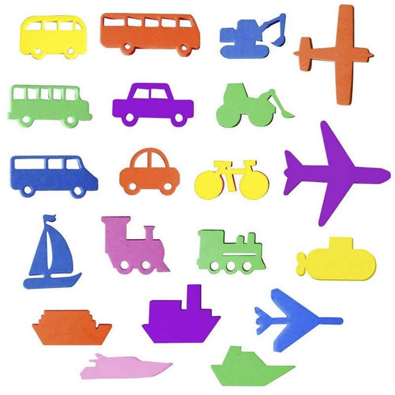 Puzles de baño para bebés, juguetes de baño alfanuméricos con letras, juguetes suaves de EVA para niños, juguetes de agua para el baño para bebés, juguete educativo para el baño temprano