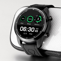 KC03 Smart watch Android 6.0 1.3inch Smartwatch Heart Rate Monitor Blood Pressure Functions For Women men kid Waterproof Sports