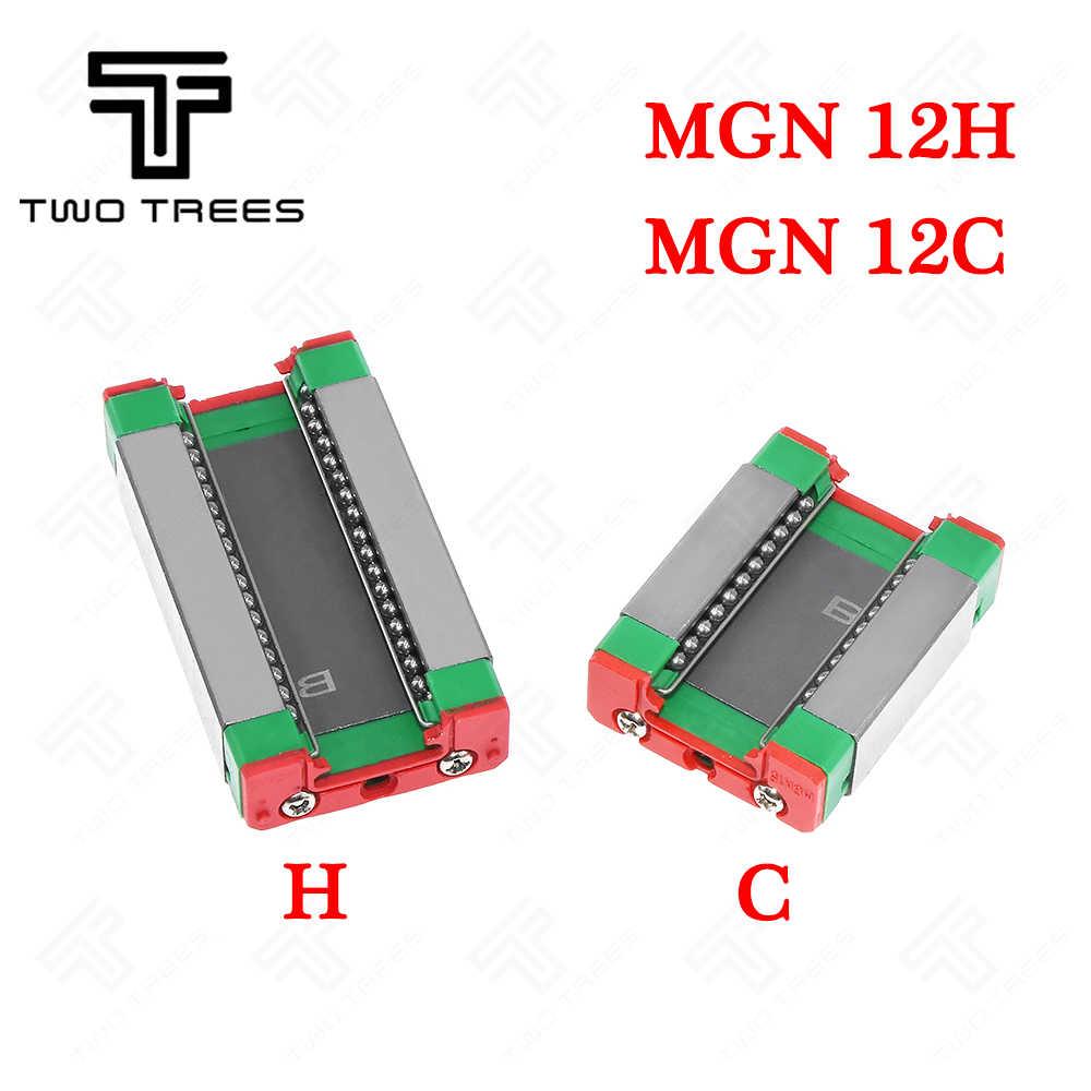 Diapositiva de carril lineal en miniatura MGN12C1R Bloque De Carro Para Impresora 3D CNC