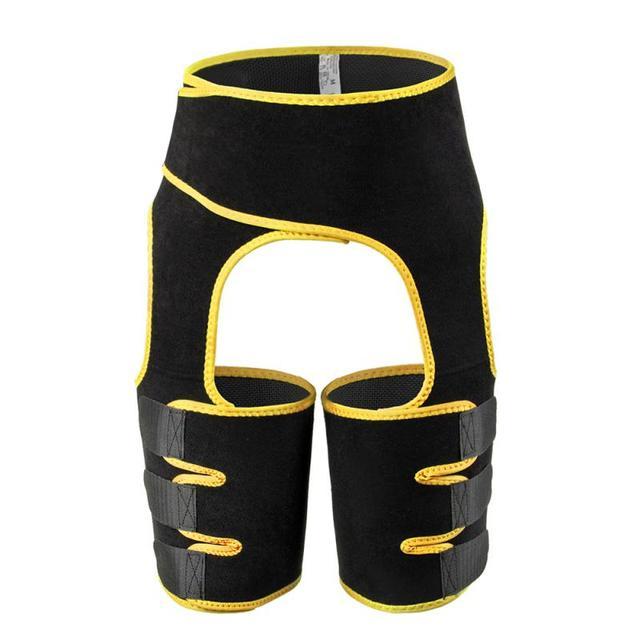 Female Abdominal Trainer Neoprene Buttocks Body Shaper Posture Correction Back Support Shoulder Belt Abdomen Sweating Girdle 5