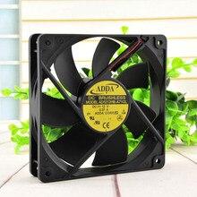 цена на ADDA new and original 12025 12cm case fan 12v 0.37A AD1212HB-A71GL for 120*120*25mm
