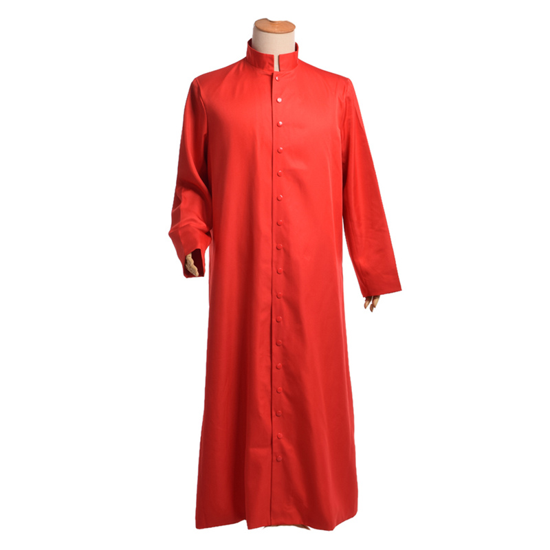 Christian Holy Clothes Clergy Robes Church Utensils Cassock Toge Chorale Eglise Choir Dresses Mid Century Modern Medieval