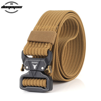 Quick Release Tactical Belt Training Heavy Duty Waist Band Sports Military Army Adjustable