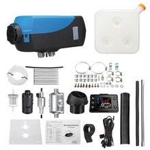 Нагреватель с одним отверстием, воздушный Дизельный Нагреватель, 12 В, 5 кВт/3 кВт/8 кВт, автомобильный нагреватель, ЖК-дисплей, динамический термостат, стояночный нагреватель
