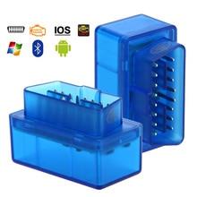 Kit doutils de Repaire de Scanner de Diagnostic de lecteur de Code de la voiture OBD2 de Bluetooth ELM327 pour les accessoires automatiques daffichage dandroid Windows IOS APP