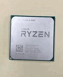 AMD Ryzen 5 1600 R5 1600 3.2 GHz ستة النواة اثني عشر الموضوع 65 واط معالج وحدة المعالجة المركزية YD1600BBM6IAE المقبس AM4 شحن مجاني