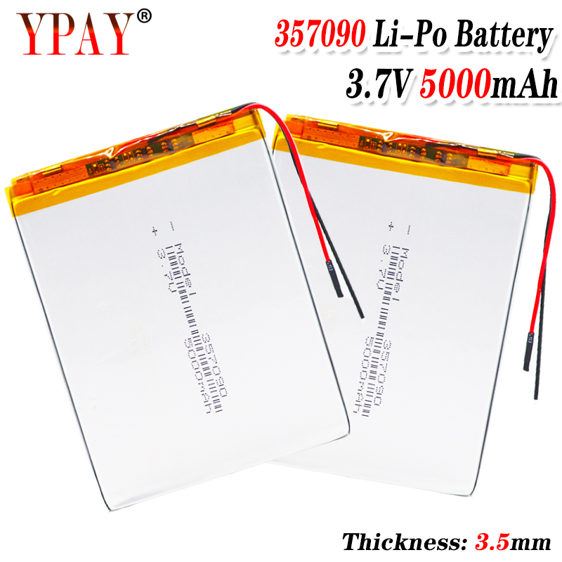 357090 3,7 v 5000mah литий полимерный аккумулятор с доской для Pda планшетных ПК цифровых продуктов Перезаряжаемые батареи      АлиЭкспресс