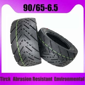 Neumático de moto eléctrica de 11 pulgadas, llanta delantera sin cámara, llantas de vacío para DUALTRON ULTRA Electric scooter, de 90/65 a 6,5, 90, 65 a 6,5