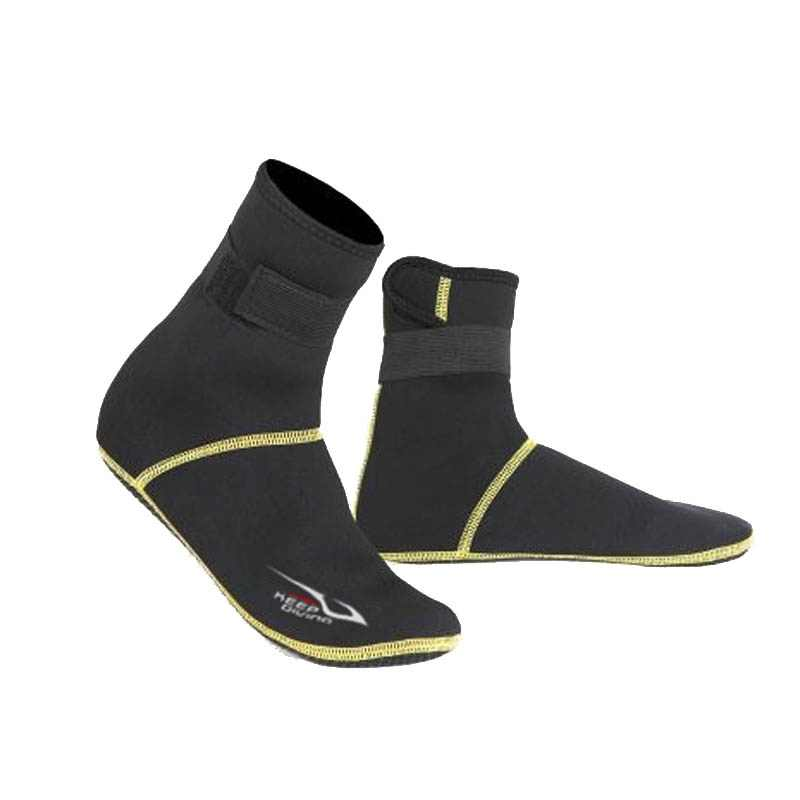 Adulto neoprene mergulho mergulho sapatos meias botas de praia wetsuit anti arranhões inverno aquecimento anti derrapante meias à prova dsocks água