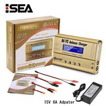 HTRC Imax B6 V2 Balance Ladegerät 80W Professionelle Digitale Entlader Für LiHV LiIonLiFe NiCd NiMH PB Batterie LiPo Ladegerät