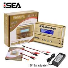 Балансирующее зарядное устройство HTRC, профессиональное разрядное устройство для аккумуляторов LiHV LiIonLiFe NiCd NiMH PB, 80 Вт, зарядное устройство д...