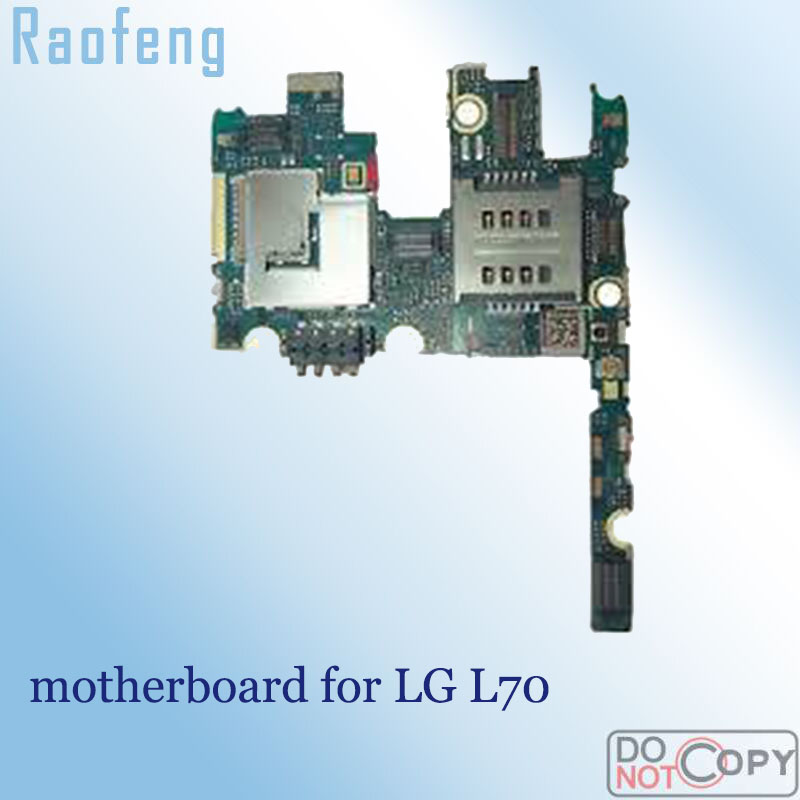 Raofeng High quality use motherboard For LG l70 Mainboard test one by one   Unlocked  well worked with chips  logic board|Mobile Phone Motherboards| |  - title=