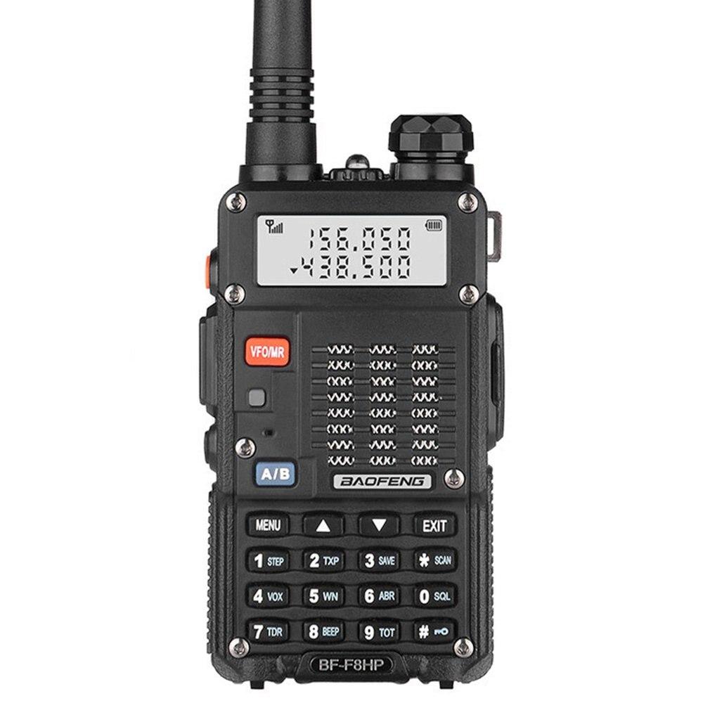 Baofeng 7W BF-F8HP Walkie Talkie VHF/UHF Dual Band Dual Display Portable CB Ham Radio Station Amateur Police Scanner Radio