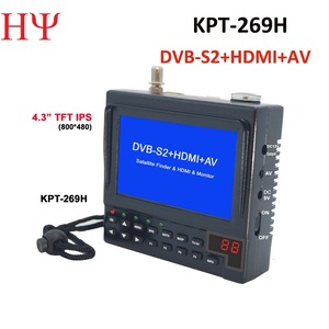 Image 2 - KPT 269H DVB S2 Satellitefinder Full HD Truyền Hình Kỹ Thuật Số Vệ Tinh Thu Tìm Đo MPEG 4 HD DVB S Vệ Tinh Tìm
