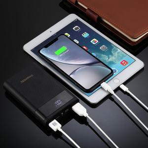 Image 5 - HAWEEL DIY зарядное устройство для аккумулятора, Корпус внешнего аккумулятора (не входит в комплект) с 2 USB выходами и дисплеем, поддержка QC 2,0 мА 4x