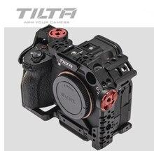 Tilta TA T18 Sony A7sIII A7S3 tam kafesi/yarım kafes temel hafif profesyonel kamera kafesi Tiltaing
