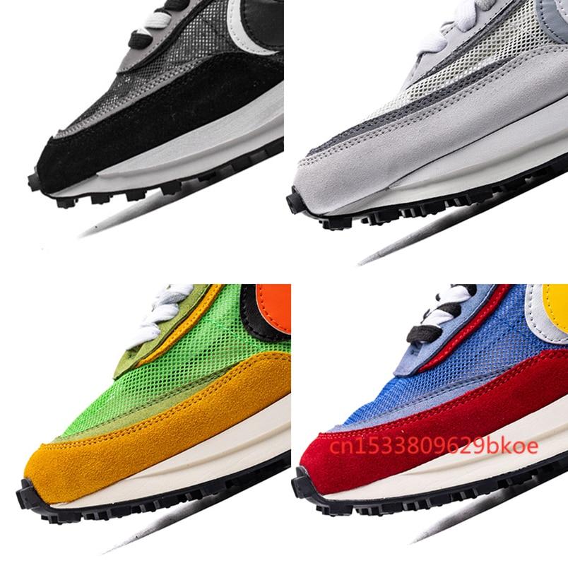 Best Sacai LD Waffle Mens Running Shoes