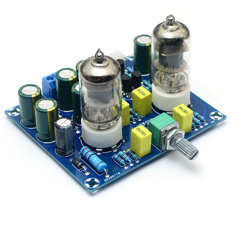 HIFI Vacuum <font><b>Tube</b></font> <font><b>Preamplifier</b></font> Board Electronic Valve Amplifier Ac12V Diy Kit image