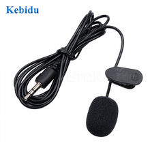 Kebidu MINI 3.5 Mm Aktif Klip Mikrofon dengan Mini USB Eksternal MIC Audio Kabel Adaptor untuk Kamera Olahraga PC Laptop(China)