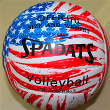 Sport Indoor Outdoor Training Ball Size 5 Soft Touch Volleyball
