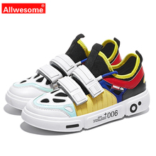 Allwesome Women Shoes Ins 2019 Mesh Solid EVA Rubber Explosion Models Wild Casual Female Sneakers Tennis  Womens