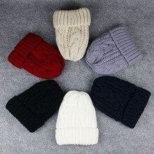 Womens Beanie Hat Winter Warm Angora Fur Knitted For Femme Bonnet Cap Skullies&Beanies BN002