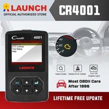 OBDII EOBD Sacnner Launch CReader 4001 Auto Code Readers OBD2 Diagnostics Scan Tools Online free update