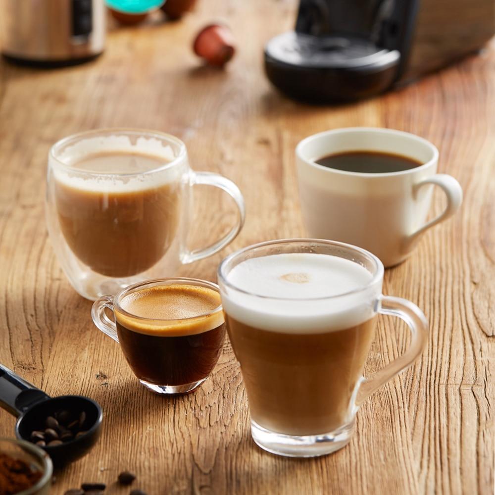 HiBREW Coffee Machine 19 Bar 3in1&4in1 Multiple  Capsule Espresso  Cafetera , Pod  Coffee Maker Dolce Milk&Nexpresso &Powder  H1 6