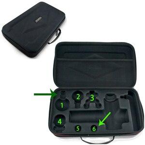Image 5 - שרירים עיסוי אקדח נייד אלקטרוני טיפול גבוהה תדר רטט עיסוי גוף הרפיה לעיסוי פניקס A1