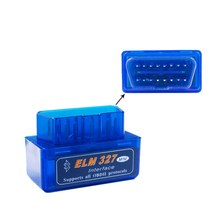 Mini ELM 327 Bluetooth V1.5 PIC 18F 25K80 Mini ELM327 1.5 OBD2 Automotive Diagnostic Tool Support J1850 Protocols(China)