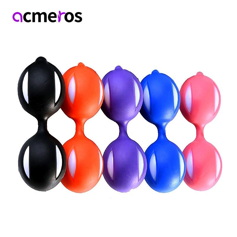 Умные Вагинальные шарики Кегеля, шарики Бен Ва, Влагалищное устройство для подтяжки вагины, вагинальные шарики гейши, интимные игрушки для ...