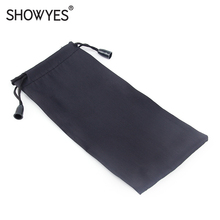 Glasses-Bag Eyewear-Accessories Small Portable Black for Inner-Box Pocket-Pull-Out Drawstring